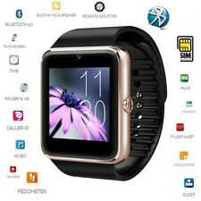 UK GT08 Bluetooth Smart Watch for Samsung Sony HTC Android Phone Camera SIM Slot