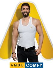 (PACK OF 2) Amul Comfy Men's Cotton Vests ★EXCLUSIVE BRANDED PRODUCT★
