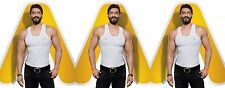 (PACK OF 3) Amul Comfy Men's Cotton Vests ★EXCLUSIVE BRANDED PRODUCT★