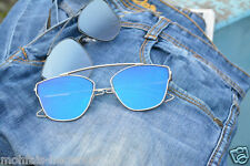 Brand New Aviator Style Round Oval Premium Sunglasses Unisex With free Cover !!!