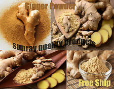 Ginger Root Extract Powder 5% Gingerols Zingiber Officinale No GMO Fre Ship