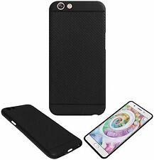 Stylish look Soft Silicon Black Dotted Back Cover Case For Oppo F1S