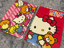 1x Sanrio Hello Kitty Black Page Note Books Travel Diary Journal Gift Cute Cat