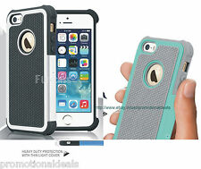 PREMIUM STYLE GRIP RUGGED Protective SKIN HARD CASE COVER FOR APPLE iPHONE 5G 5S