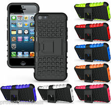 PREMIUM STYLE GRIP RUGGED SKIN HARD BACK CASE COVER FOR APPLE iPHONE 5 5G 5S