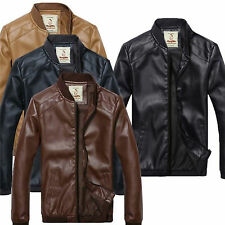 Leather Jacket for Men Black Brown Tan Color Designer latest fashion