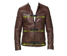 Pure Leather Jacket for Men - Made As Per Your Design, Style & Size;