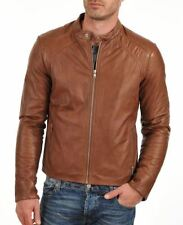 Leather (PU) Jacket for Men in Black Brown Tan Color Stylish Designer Motorcycle