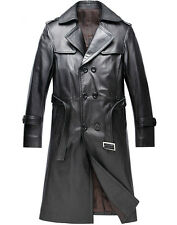 Pure Leather Jacket Very Smart Long Coat
