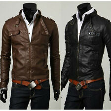 Genuine Leather Jacket for Men Brown Black Tan Biker Custom Designer Motorcycle