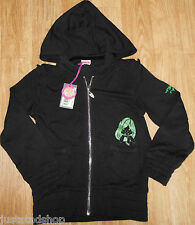 Nolita Pocket girl jacket cardigan hoodie 3-4 y BNWT black