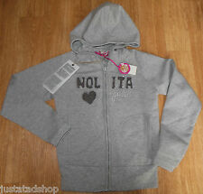 Nolita Pocket girl jacket cardigan hoodie 5-6 y BNWT  grey