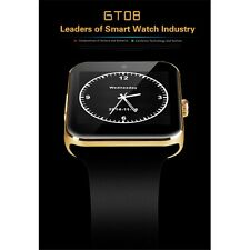 GT08 Bluetooth Smart Watch for Samsung HTC Android Phone, Camera, SIM Slot NO. 1
