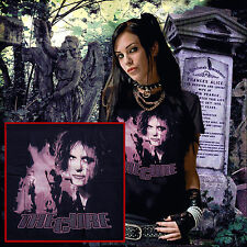 the cure t.shirt p robert smith gothic rock new wave boys dont cry goth punk