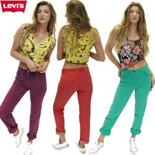 LEVIS 501 JEANS  MOM/BOYFRIEND ULTIMATE OVER DYE HIGH WAISTED W26 27 28 29 30 32