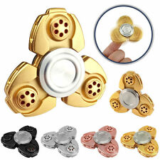 CKF Aluminum Fidget Color Hand Spinner Metal Toy Finger EDC ADHD Anxiety Stress