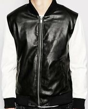 New Awesome looking, Very Stylish Men PU leather Jacket Biker Jacket