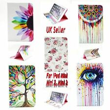 iPad Mini Case. Wallet Card Slots Cover for Apple Mini 1 2 3 TPU + PU Leather