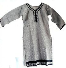 100% COTTON KURTA WOMEN EMBROIDERED CASUAL FULL SLEEVE TOP FOR LADIES & GIRLS