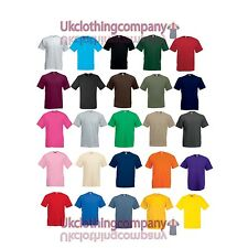 FRUIT OF THE LOOM Valueweight T-shirt - HOMME HAUT - S/M/L/ xl 2xl 3xl 4xl