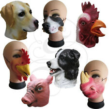 Best Selling Latex Mask - Half Face / Full Head Animal Dog Rooster Chicken Masks