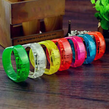 Sound  Activated Voice control LED Bracelet Flashing Wristband Prop Party