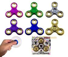 Hand Spinners Fidget Spinners Toy Metallic Anxiety Stress Relief Focus EDC New