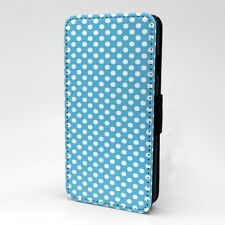 Polka Dot estampado Funda libro para Apple iPod - t1057
