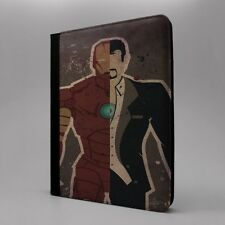 Maravilla Iron Man Funda libro para Apple iPad - T70