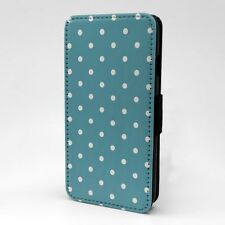 Polka Dot estampado Funda libro para Apple iPod - t1064
