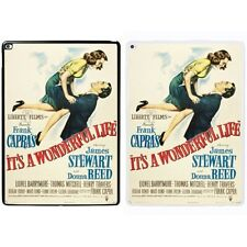 Movie it's A Maravillosa Vida Estampado PC Funda para Apple iPad - s-t1393