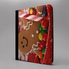 Jengibre Man Tableta Funda libro para Apple iPad - s-t2769