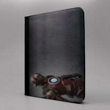 Steampunk Iron Man Tableta Funda libro para Apple iPad - s-t2706
