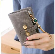 Leather Women Wallets Female Fashion Zipper Small Wallet Women Short Coin Purse
