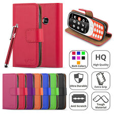 Nokia 3310 Case TA-1008 Magnetic Flip Leather Wallet Cover Stand Premium Luxury