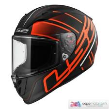 Casco LS2 ARROW R EVO FF323 Ion Matt Black / Red
