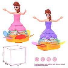 Battery Operated Toy Dancing Princess Robot with Music and 3D Lights