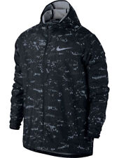 Nike Giacca Allenamento Essential Hooded Running Nero Uomo