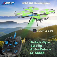 JJRC H98 4CH 6 ASSE GYRO 2.4GHz RC Quadcopter con 0.3MP TELECAMERA UNO CHIAVE