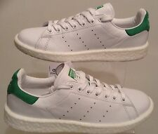 ADIDAS ORIGINALS STAN SMITH TRAINERS WHITE-GREEN BB0008 SIZES 4.5 TO 10.5