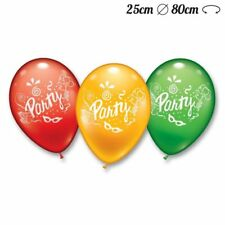 Globos Redondos Party 25 cm