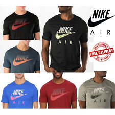 Nike Air Mens Speckle Futura T-Shirts Swoosh Sports Casual Gym Tee rrp £30