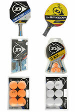 Dunlop Table Tennis Mixed Bats Balls Nets NEW