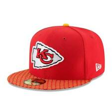 New Era KANSAS CITY CHIEFS 2017 linea laterale On-Field NFL 59Fifty