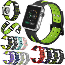 Soft Silicone Replacement Strap Sport Band For Apple Watch 42mm/38mm iWatch New