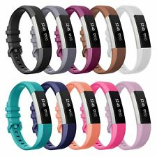 Secure Wristband Straps Matching Buckle Band for Fitbit Alta HR Fitness Tracker