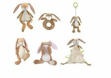 Guess How Much I Love You Hare Lullaby Ring Rattle Cot Pram Spiral Blanket
