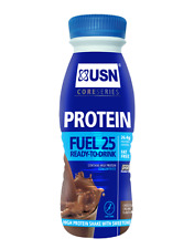 USN Protein Fuel RTD Nutritional Meal Replacement Supplement Shake - 8 x 330ml