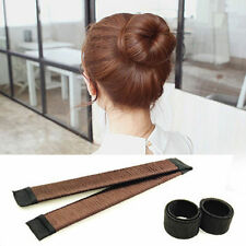 Women's Hair Styling Donut Tool Bun Maker Former Foam French DIY