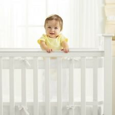 Breathable Baby AirflowBaby  2 Sided (SOLID ENDED) Cot / Cotbed Liner Bumper